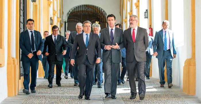 Visita del Ministro José Manuel Soria