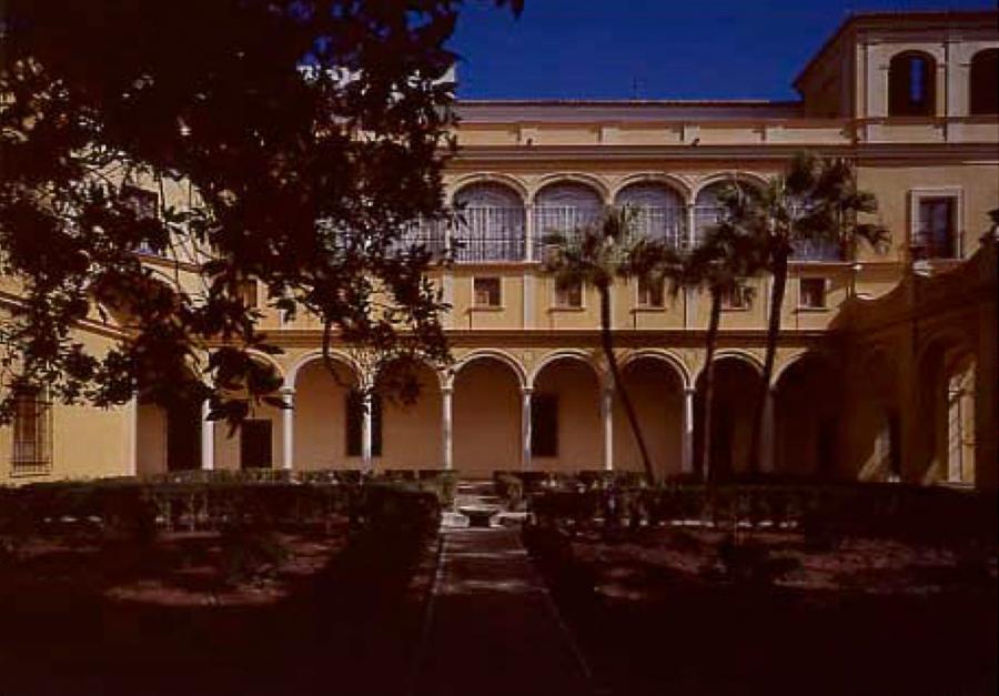 Restauraci n del jard n del principe real alc zar de sevilla - Jardines verticales sevilla ...