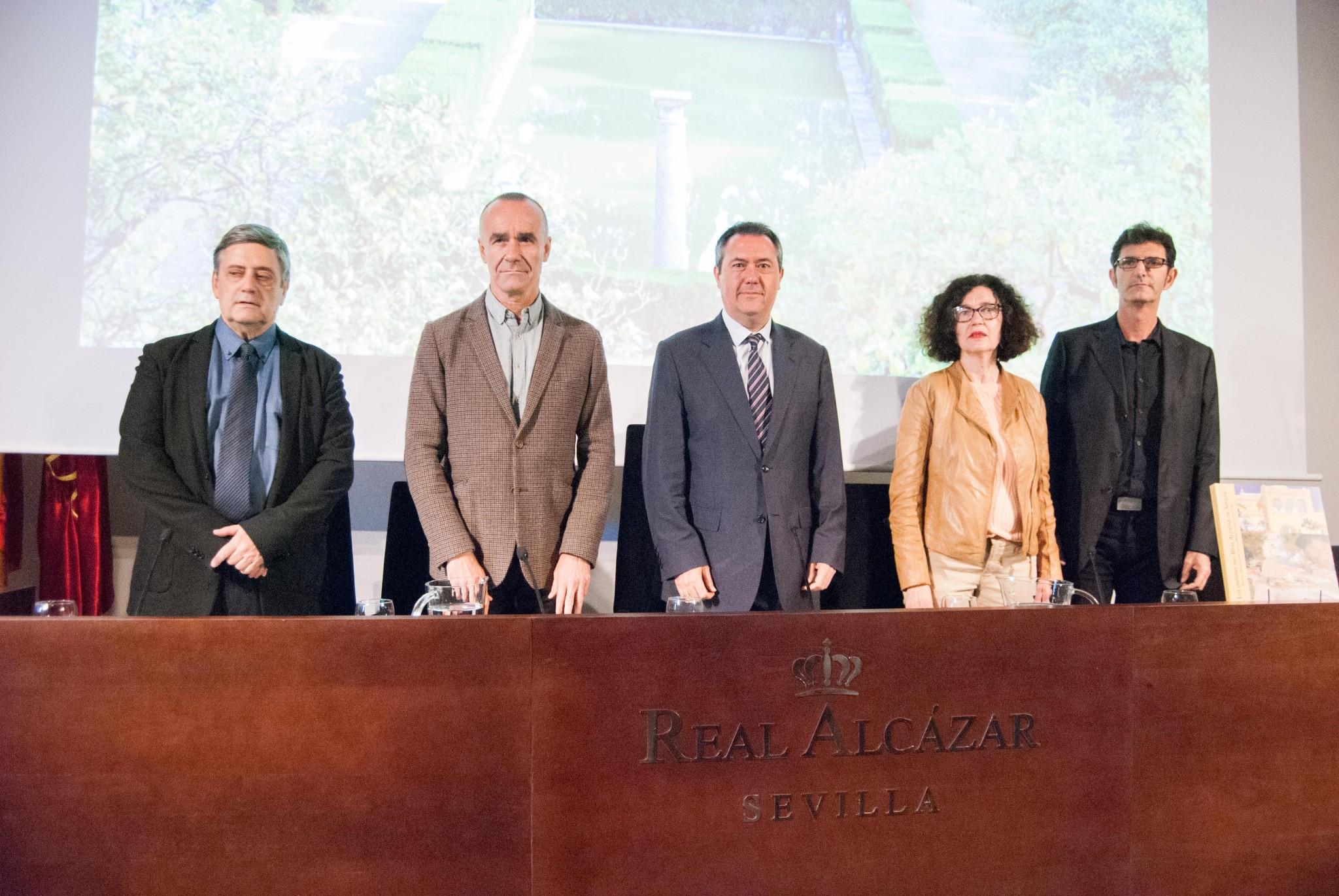 Presentación 'Jardines del Real Alcázar'