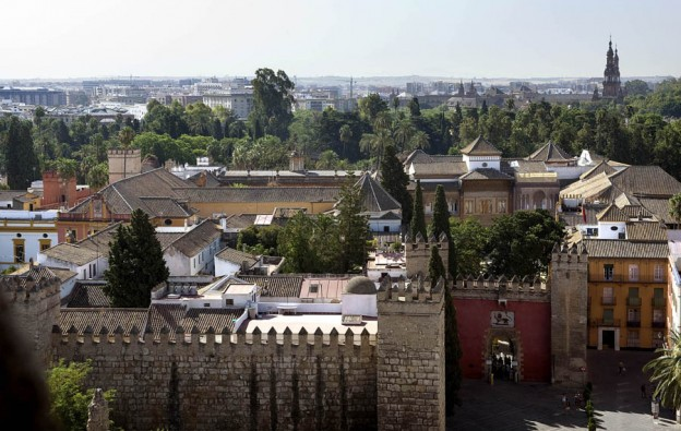 Puerta del León y Alcázar