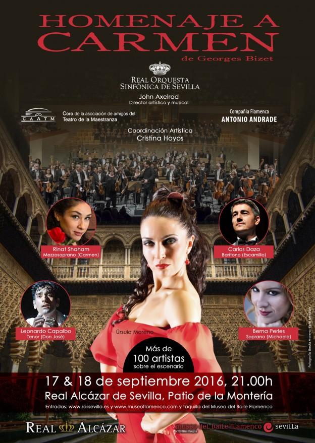 Ópera 'Carmen' en el Real Alcázar