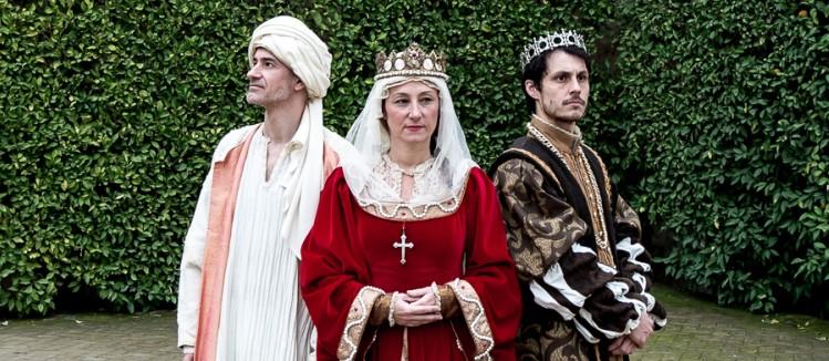 Reyes en el Alcázar