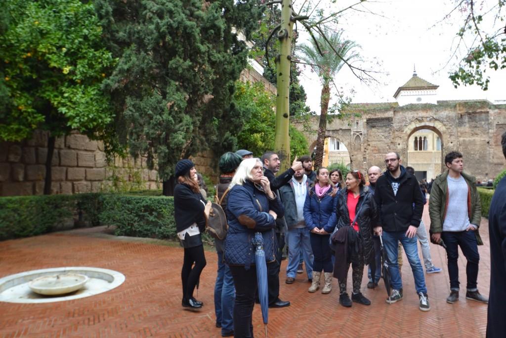 Visitas a la Puerta del León