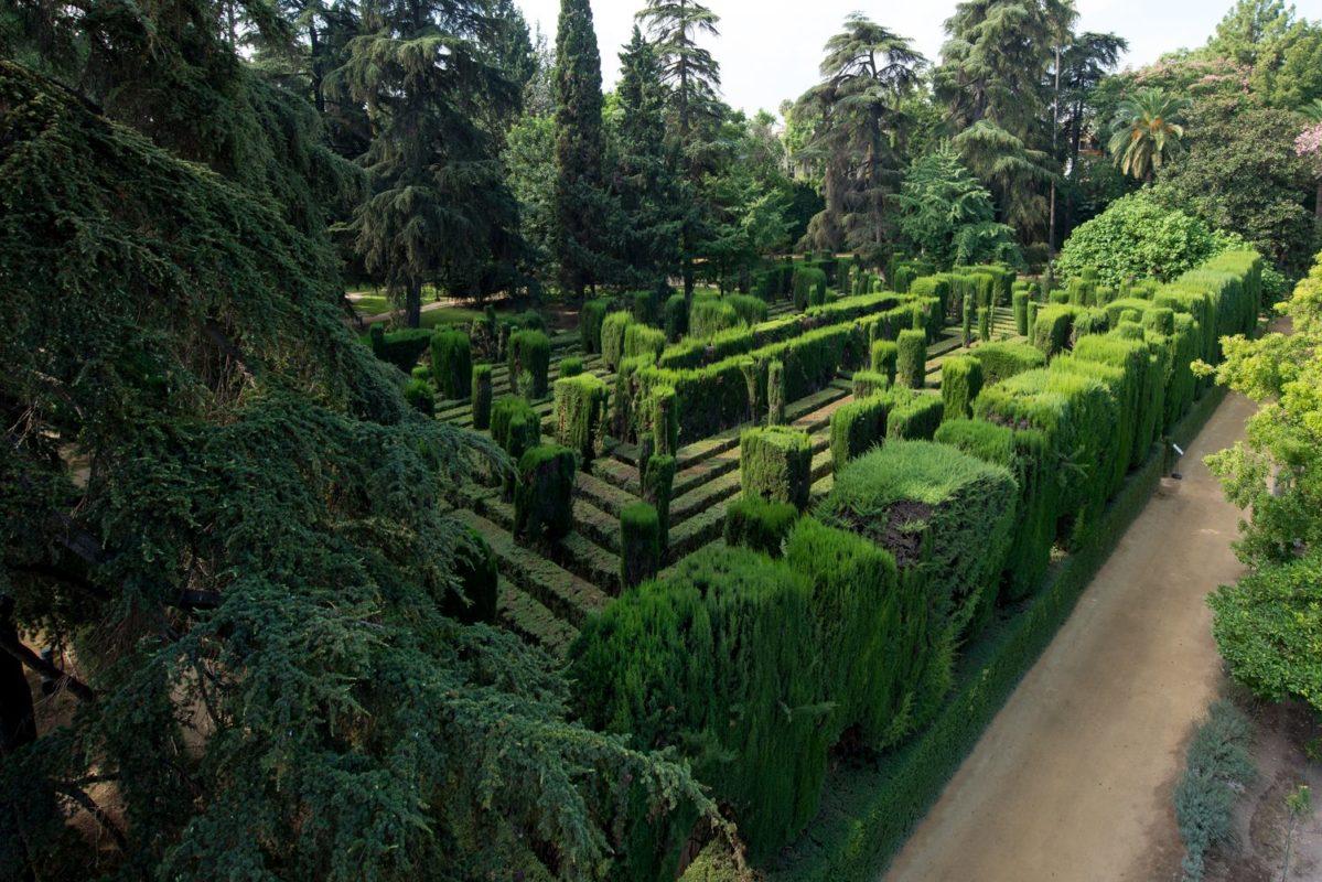Jardín del Laberinto baja